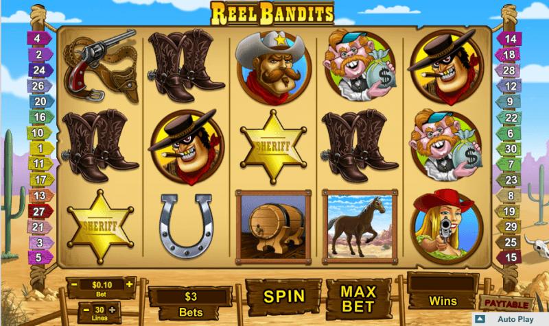 Reel Bandits slot