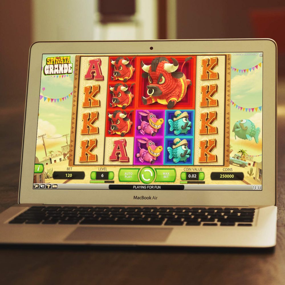 Slot de e-gaming on-line